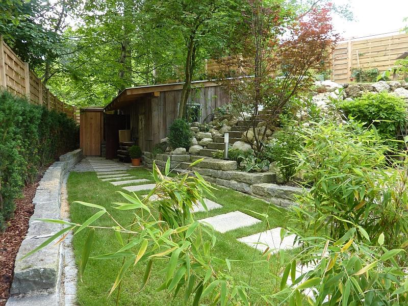 Bambus garten design for Gartengestaltung bambus